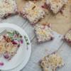 Recipe // Healthy Raspberry Coconut Slice
