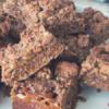 Recipe // Chocolate Caramel Muesli Bar Slice