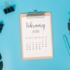 Calendar // February 2019