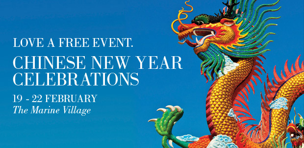 Chinese New Year Celebrations at Sanctuary Cove