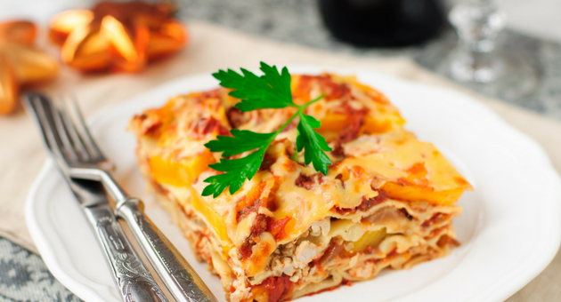 Recipe // Pumpkin Lasagne