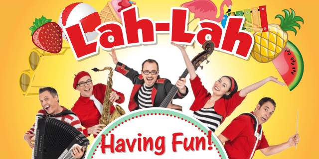 Get Ready to Have Fun with Lah-Lah's Big Live Band!