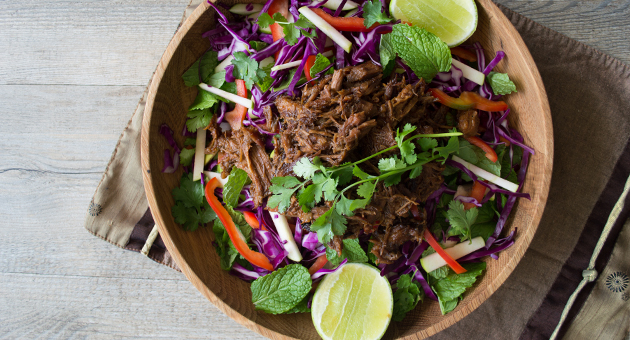 Recipe // Sticky Asian Pulled Pork and Slaw