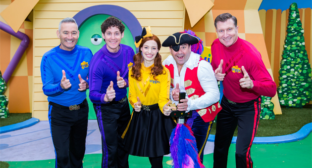 The Wiggles are Coming to Town
