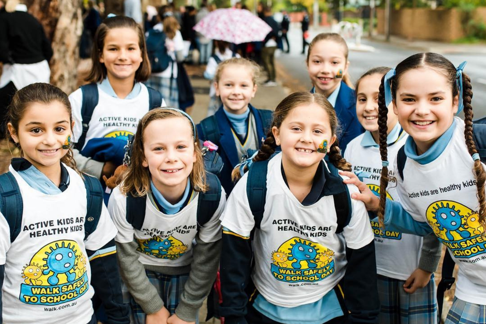 National Walk Safely to School Day turns 20!