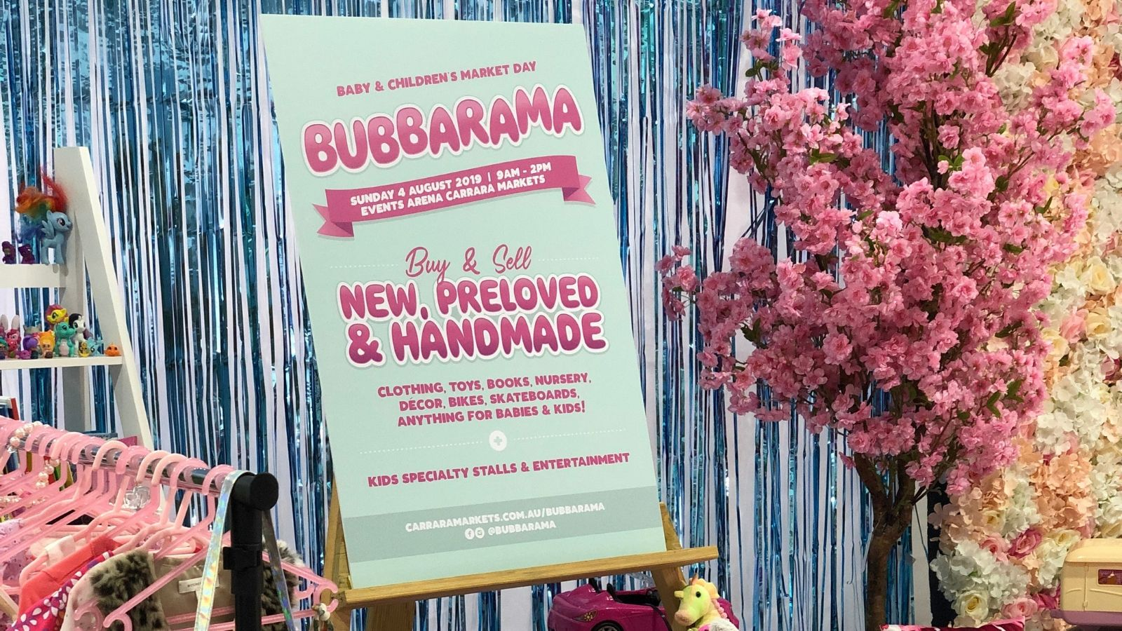 Get Set for Bubbarama