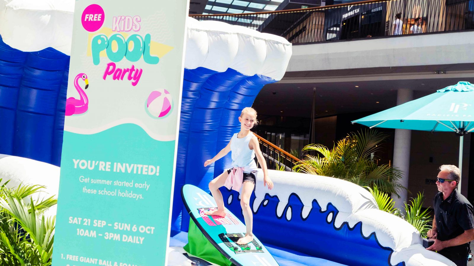 The Ultimate Pacific Fair Pool Party