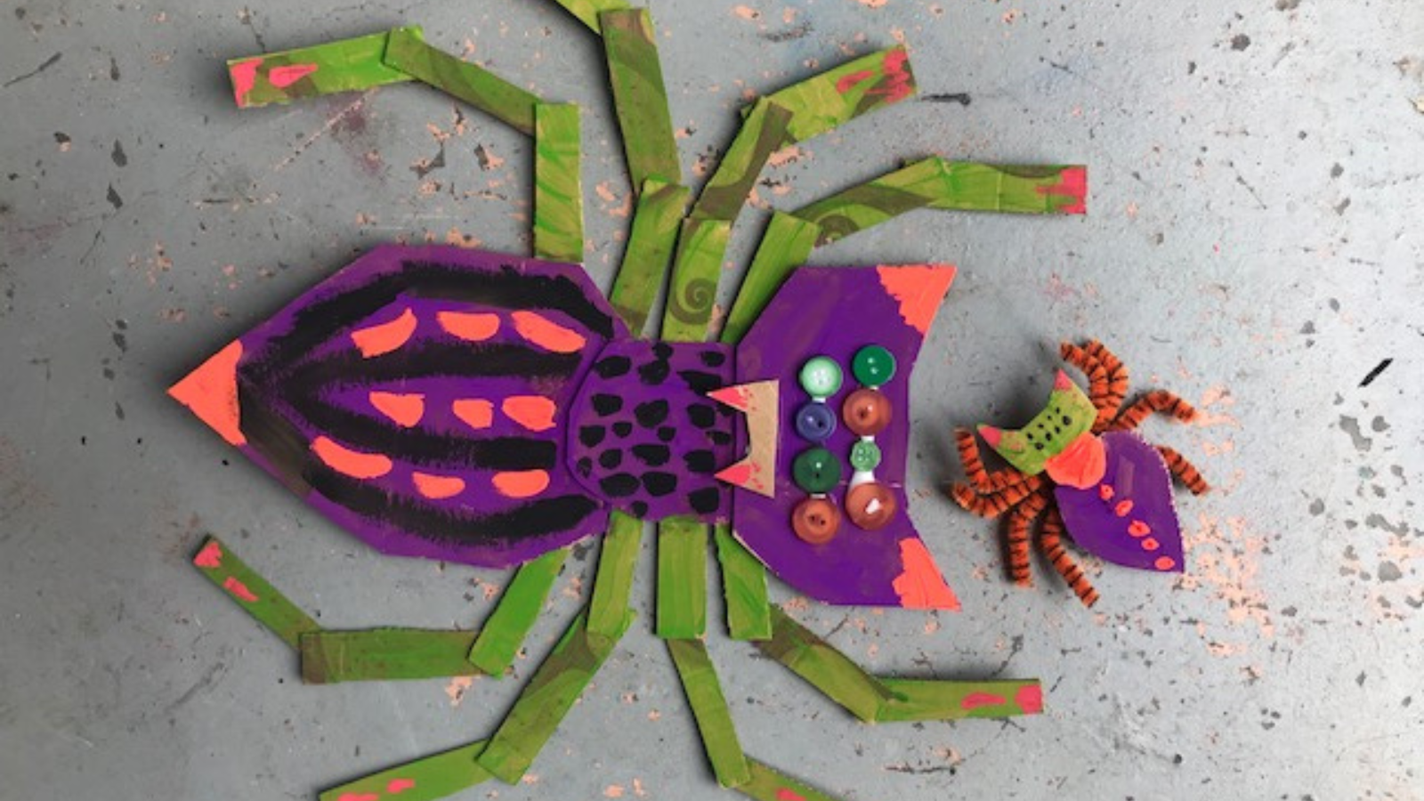 Art Project // Creepy, Crawly Spider