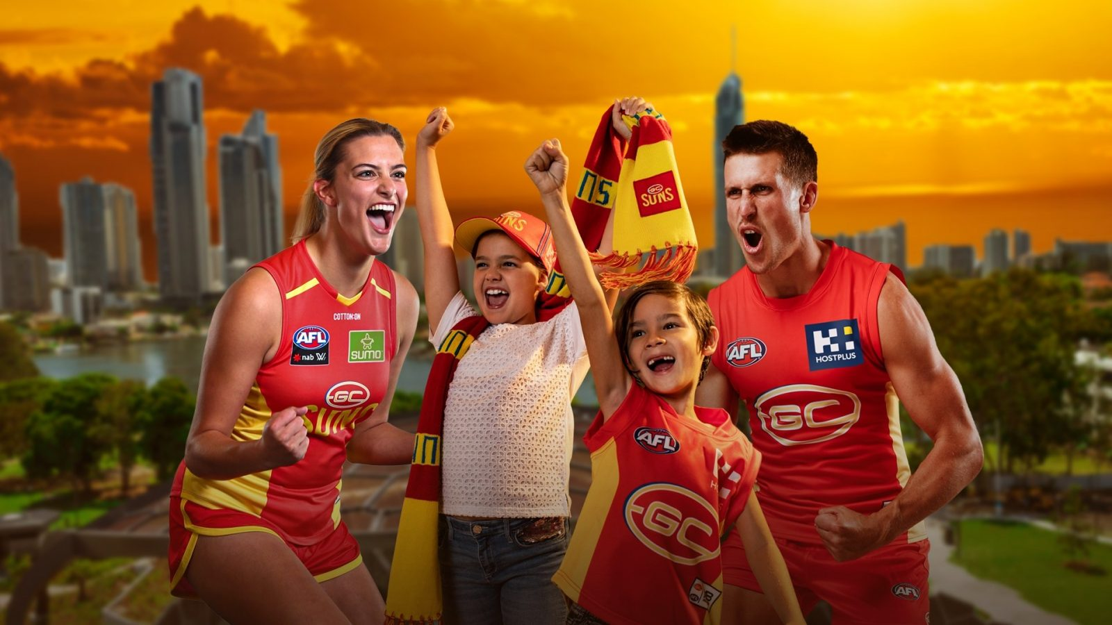 Family fun with the Gold Coast Suns