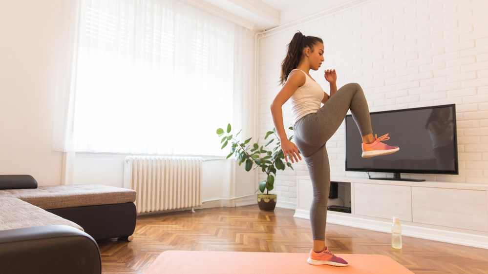 Ways to work out at home