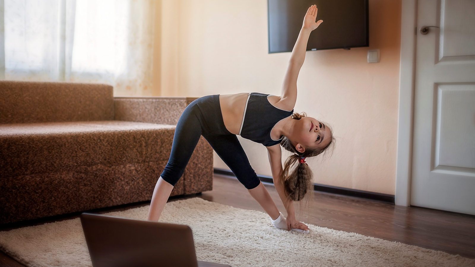 Free at-home kids workout