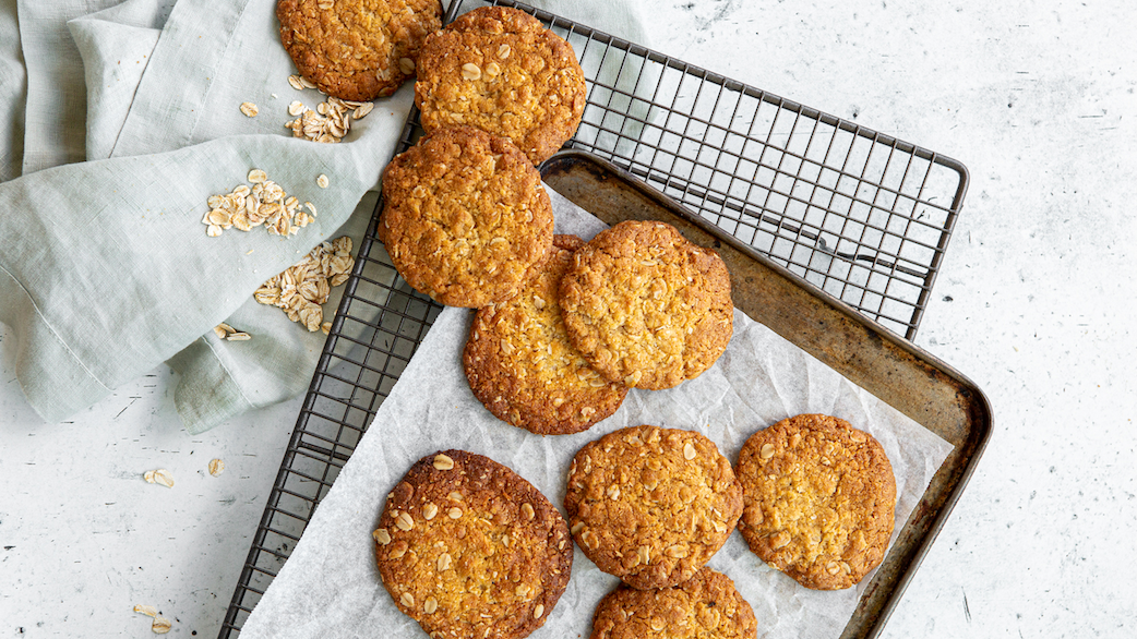 Three takes on an Anzac biscuit